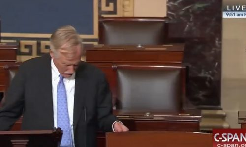 King searches Senate chamber for Republican health care repeal bill