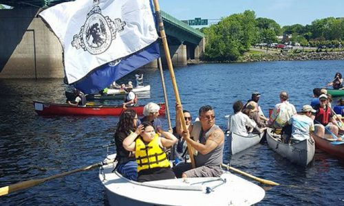Flotilla formed to protect the Penobscot