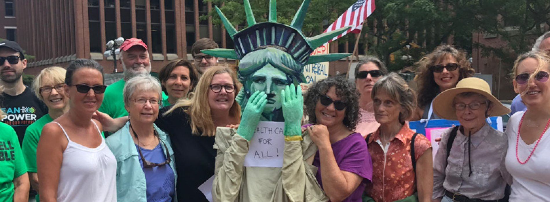 Mainers celebrate defeat of Republican health care repeal
