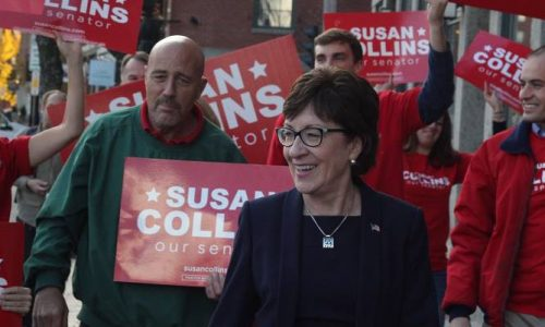 Collins would face a knock-down, drag-out Republican primary for governor