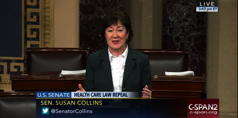 Collins admits Republicans don't have 'comprehensive' health care plan if ACA repealed