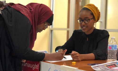 Joining national wave of young voters, Maine students work to get out the vote