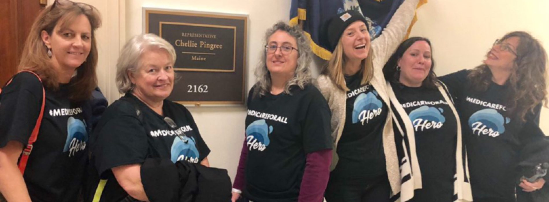 Mainers Thank Pingree For Sponsoring Medicare For All Urge