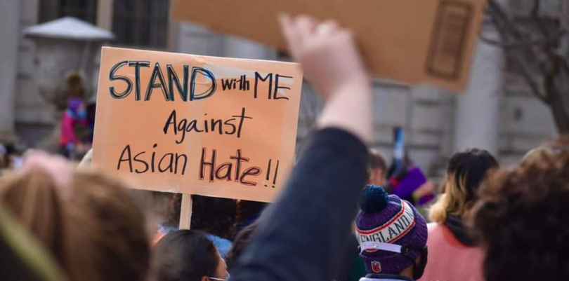 'Stop Asian hate': Portland rally calls for end to wave of violence against AAPI community